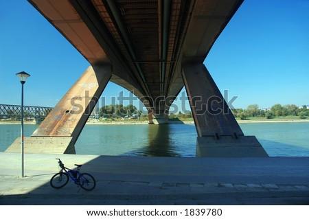 bridge under the river