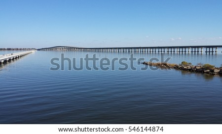 Bridges in Biloxi, Mississippi