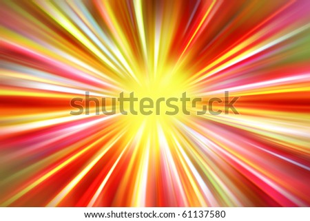 Bright abstract colorful blurred background