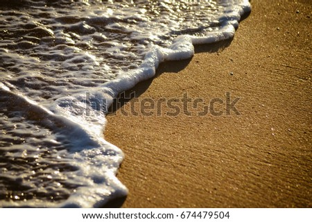 Bright beautiful seascape. Composition of nature, travel vacation and sunny outdoor background #674479504