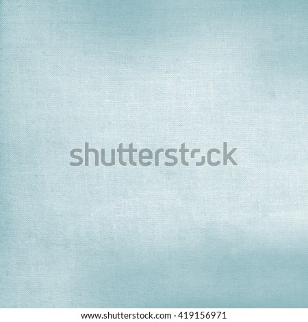 bright blue canvas fabric texture background