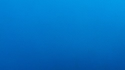 Bright blue rhombus-embossed plastic texture