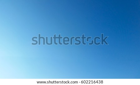 Bright blue skies in sunny good weather #602216438