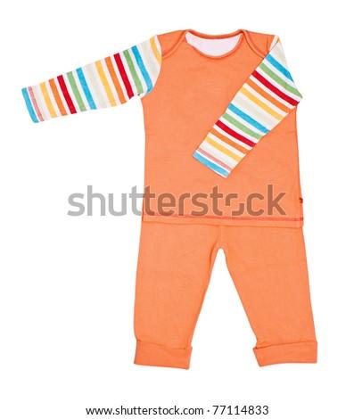 Bright children's pajamas