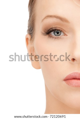 bright closeup portrait picture ...