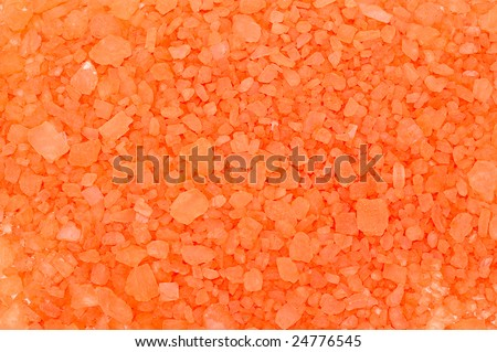 Bright color abstract mineral crystal salt background.