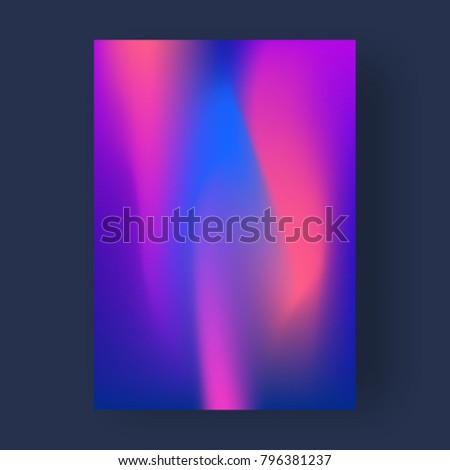 Bright color abstract pattern background, gradient texture for minimal dynamic cover design. - Shutterstock ID 796381237
