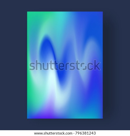 Bright color abstract pattern background, gradient texture for minimal dynamic cover design. - Shutterstock ID 796381243