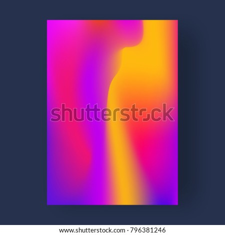 Bright color abstract pattern background, gradient texture for minimal dynamic cover design. - Shutterstock ID 796381246
