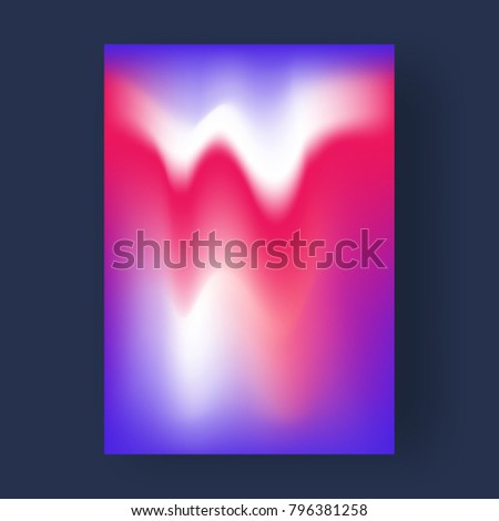 Bright color abstract pattern background, gradient texture for minimal dynamic cover design. - Shutterstock ID 796381258