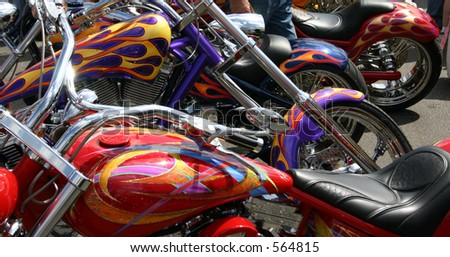 Bright Color Choppers
