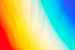 Bright colorful background with extremely saturated spectral colors and abstract structure for design.