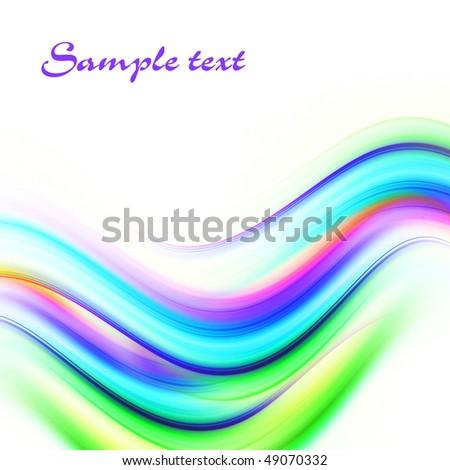 Bright colorful bright