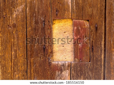 Bright colorful wood texture with natural pattern as a natural background