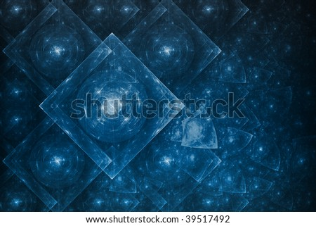 Bright Crystal Glowing Formation Abstract Background Wallpaper