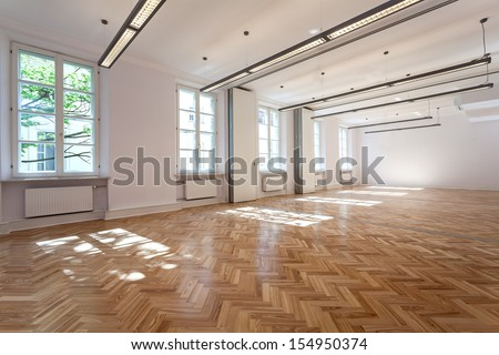 Bright elegant interior for party or banquet #154950374