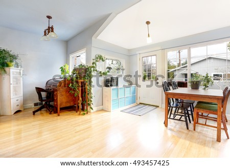bright entrance room in...