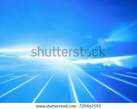 Bright fluorescent blue lamps #720462592
