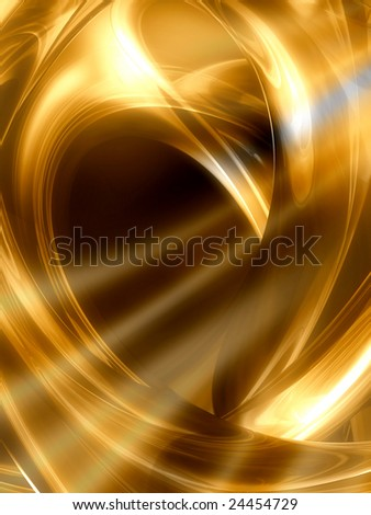 Bright gold abstract background