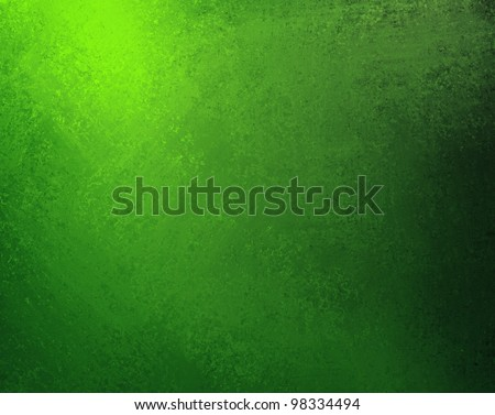 bright green background with old black and light shading border design with vintage grunge background texture, solid dark abstract background luxury art for web template, Christmas background or eco