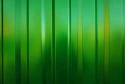 Bright green wall. Background. Line.