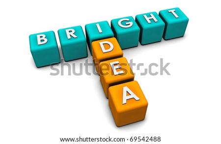 Bright Idea in Simple and Creative 3D Blocks