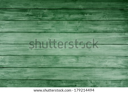 Bright Kelly Green Rustic painted board Background, perfect for St. Patricks Day or Christmas with room or space for copy, text, words, designs.