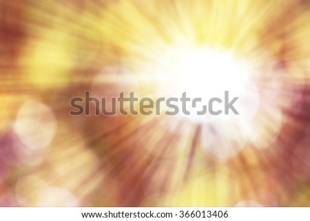 Bright light from heaven in hope concept #366013406