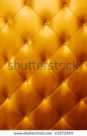 bright luxury golden leather background