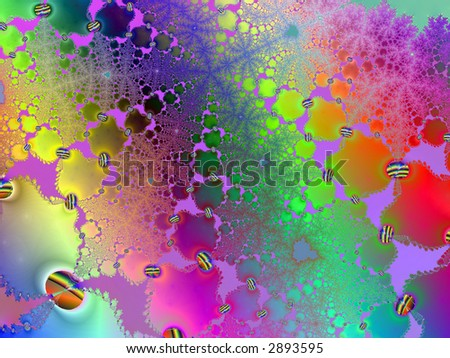 bright neon abstract page design illustration background