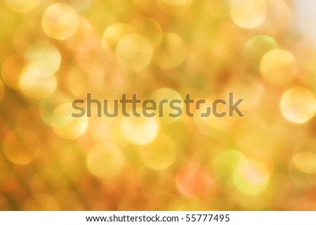 Bright orange bubble background - stock photo