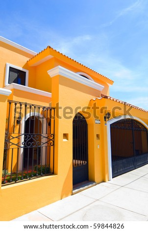Pin stock photo house number three hundred and seventy six for Bright houses number