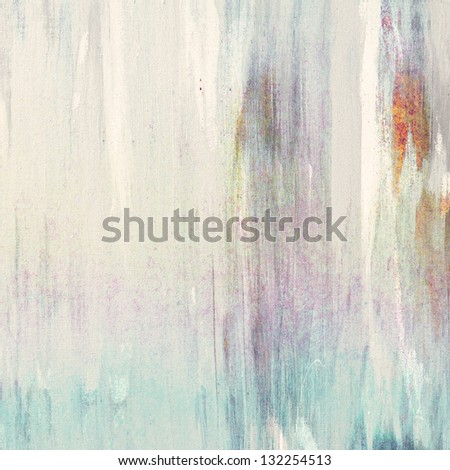Bright painting on canvas texture