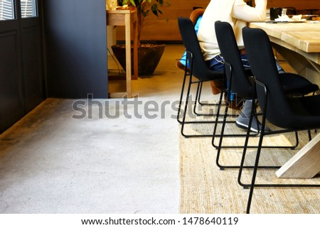 Bright passageway in the cafe #1478640119