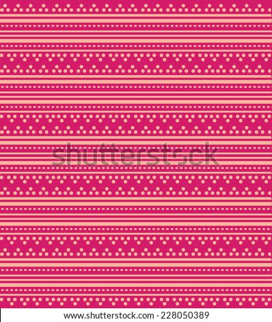 Bright Pink Oriental Traditional Henna Design Background Wallpaper