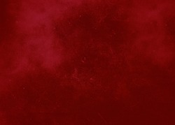 Bright red abstract textured background. Texture of red paint with splashes and scratches. School Background Texture Red Valentine's Day Celebration