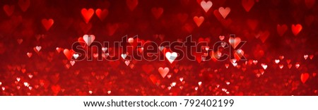 Bright red hearts abstract background #792402199