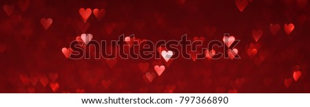 Bright red hearts abstract background #797366890