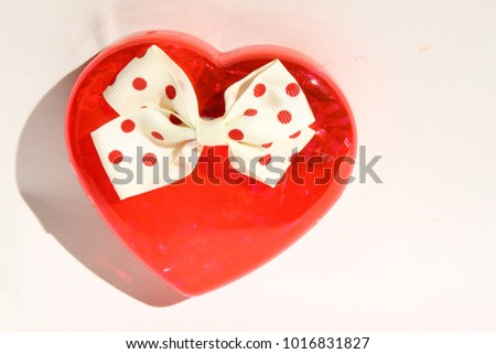 bright red hearts on white background   #1016831827
