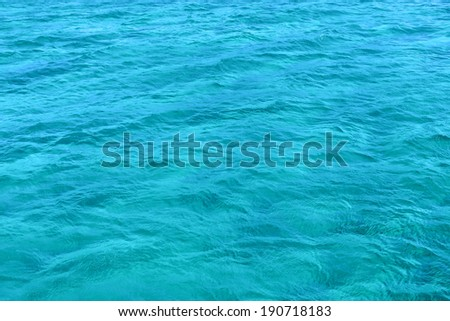 Bright sea water background