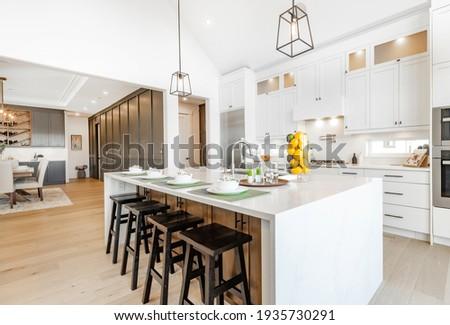 bright, spacious and modern farmhouse style kitchen