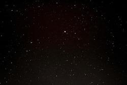 Bright stars in the dark sky as texture, background (design element)