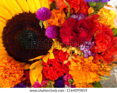 Bright summer bouquet #1164099859