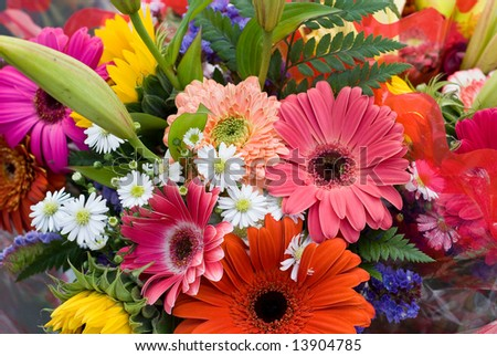 Bright Summer Flower Bouquet