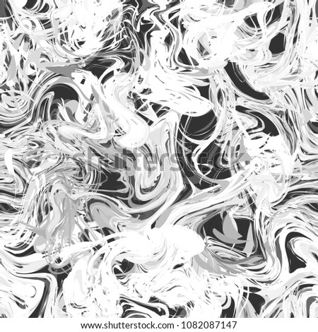 Bright white paint splash on dark background, seamless pattern