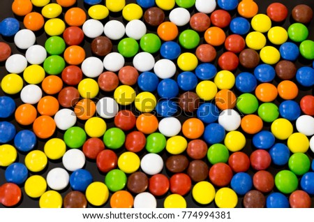 Brightly colored background. Bright texture of different colors. #774994381
