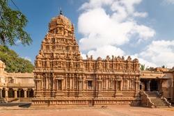 Brihadeshwara Indian Temple, Thanjavur, Tamil Nadu, India