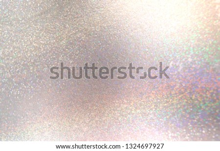 Brilliance background. Light pearl shimmer blurred texture. Glitter diamond abstract illustration. Bright sparkles pattern.