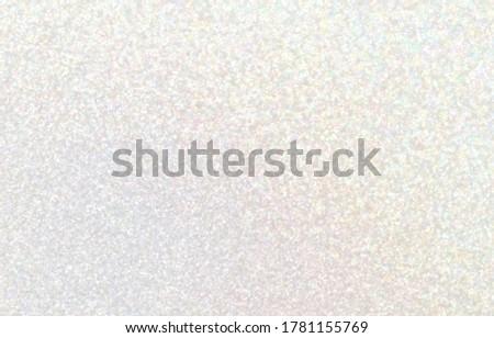 Brilliance iridescent pastel background. Subtle hologram glitter texture. Light sparkling empty wall surface. Сток-фото ©