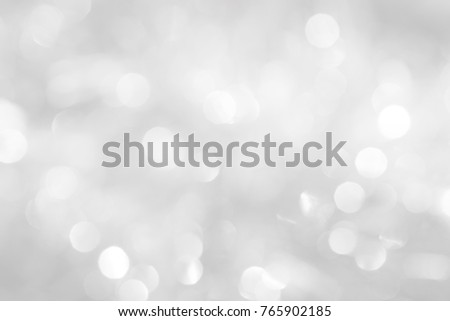 brilliant background for the new year holiday balls with a blurry pattern of gray and